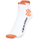X-Socks Bike Pro Ultrashort Socks Men White/Orange